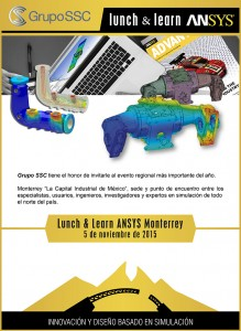 Lunch & Learn ANSYS  Monterrey 2015